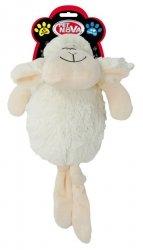 Pet Nova 1376 Owca biała pluszowa piszcząca 35cm