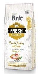 Brit Fresh 0731 Adult 12kg Chicken & Potato