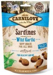 Carnilove Dog Snack 8899 Sardines Wild Garlic 200g