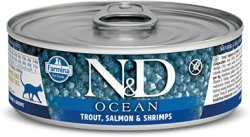 ND Cat 2031 Adult 80g Ocean Trout,Salmon, Shrimp