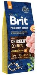 Brit Premium By Nature M Junior 3kg