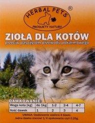 Herbal Pets 4272 Zioła p.pasożytom 1g - kot