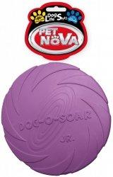 Pet Nova 3028 Dysk gumowy 15cm fioletowy