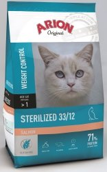 Arion 8667 Cat Original Sterilised Salmon 2kg