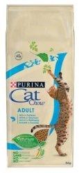 Purina Cat Chow 15kg Bogaty w Łososia