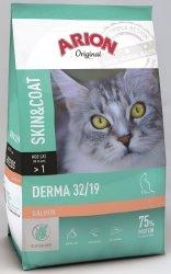 Arion 8568 Cat Original Derma Salmon 32/19 2kg