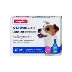 Beaphar 11902 Vermicon Ektopasożyty Dog S 3x1,5ml