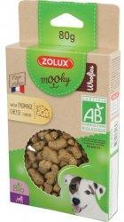 Zolux 482184 MOOKY BIO Woofies z serem 80g