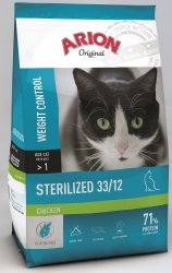 Arion 8650 Cat Original Sterilized Chicken 7,5kg