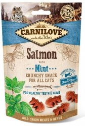 Carnilove Cat Snack 7175 Salmon & Mint 50g