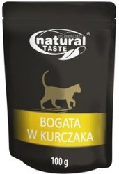 Natural Taste Cat bogata w kurczaka 100g