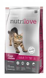 Nutrilove Cat 11461 Adult 1,5kg kurczak