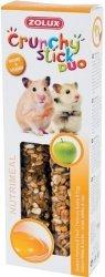 Zolux 209236 Crunchy Stick chomik jabłko jajo 115g