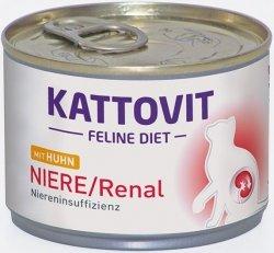 Kattovit 77046 Niere/Renal Kurczak dieta 175g kot