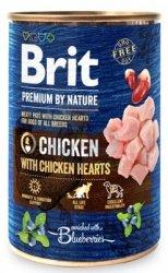 Brit Premium By Nature puszka 400g Turkey&Liver