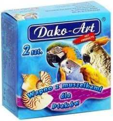Dako-Art 623 Wapno dla ptaków z muszelkami