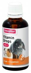 Beaphar 13673 Vitamin Drops + Vit C 50ml