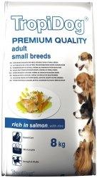 Tropidog 57127 Premium Adult S Salmon&Rice 8kg