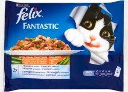 Felix Fantastic 4x100g Ryba z warzywami saszetki