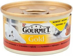 Gourmet Gold 85g Wołowina Pomidory