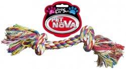 Pet Nova 2816 Zabawka sznur 2KNOT 25cm