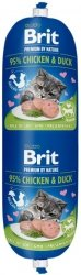 Brit Sausage Cat Chicken & Duck 180g