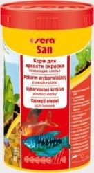 Sera 00250 San 250ml płatki pokarm wybarwiajacy