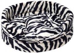 Derma 1092 Legowisko futerko z poduszką Zebra 2