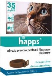 Happs 8652 obroża p.p. i kleszczą dla kotów