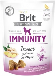 Brit Care Dog Functional Snack Immunity Insec 150g