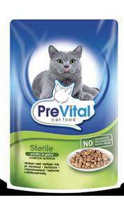 PreVital 2768 saszetka dla kota 100g Sterile drób