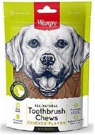Wanpy 9016 Szczoteczka do zębów smak kura 100g psa