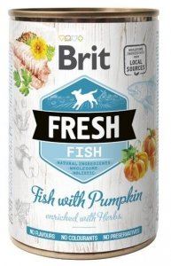 Brit Fresh 3923 Puszka 400g Fish & Pumpkin
