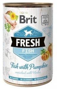 Brit Fresh 3923 Puszka 400g Fish & Pumpkin