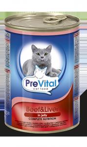 PreVital 2072 Puszka dla kota 415g wołow wątr gal