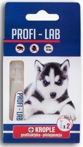 Pchełka 6459 Krople Profi Pies pow 15kg 2 x 1,8ml