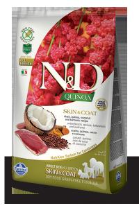 ND Dog NG 5547 Adult Quinoa 800g Skin&Coat Duck