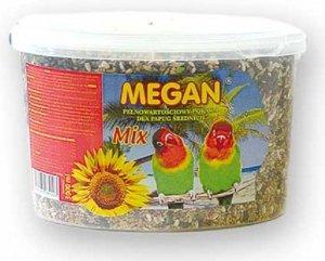 Megan ME19 Pokarm dla średnich papug 3 l/1950g