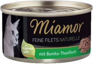 Miamor 75017 Filets Naturelle Tuńczyk Bonito 80g