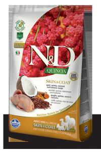 ND Dog NG 5684 Adult Quinoa 7kg Skin&Coat Quail