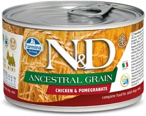 ND Dog 2437 Adult Mini 140g Ancestral Chicken&Pom