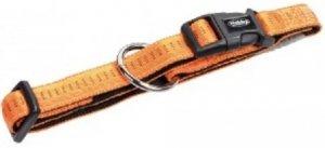 Nobby 78511-04 Obroża Soft Grip 30-45cm 20mm pomar