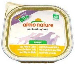 Almo 0307 Dialy Bio Puppy Kurczak i Mleko 100g pie