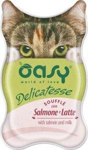 OASY 3525 Delicatesse Souffle Łosoś Mleko 85g