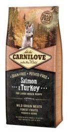 Carnilove Dog 8853 Puppies LB Salmon Turkey 1,5kg