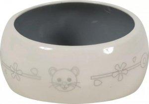 Zolux 206106 Miska ceramiczna gryzoń 300ml beż