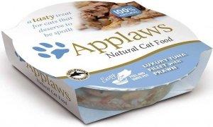 Applaws 7101 Cat Tuńczyk Krewetki 70g miseczka gal