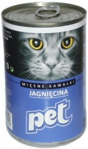 Pet Cat 810g Jagnięcina