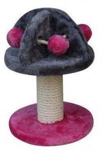 YARRO 1150 Drapak Mini Grzybek róż-szary