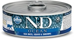 ND Cat Ocean 2024 Adult 80g Sea bass,squid Shrimp